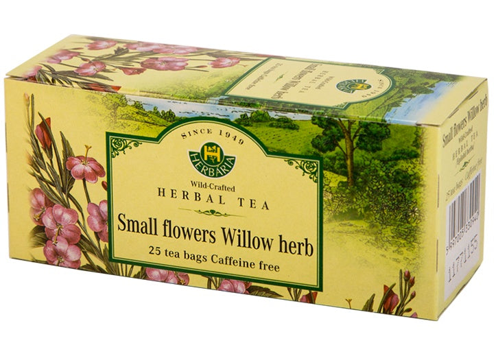 Food & Drink - Herbaria - Small Flowers Willow Herb Tea, 25 TEA BAGS