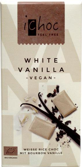 Food & Drink - IChoc - White Vanilla - 80G