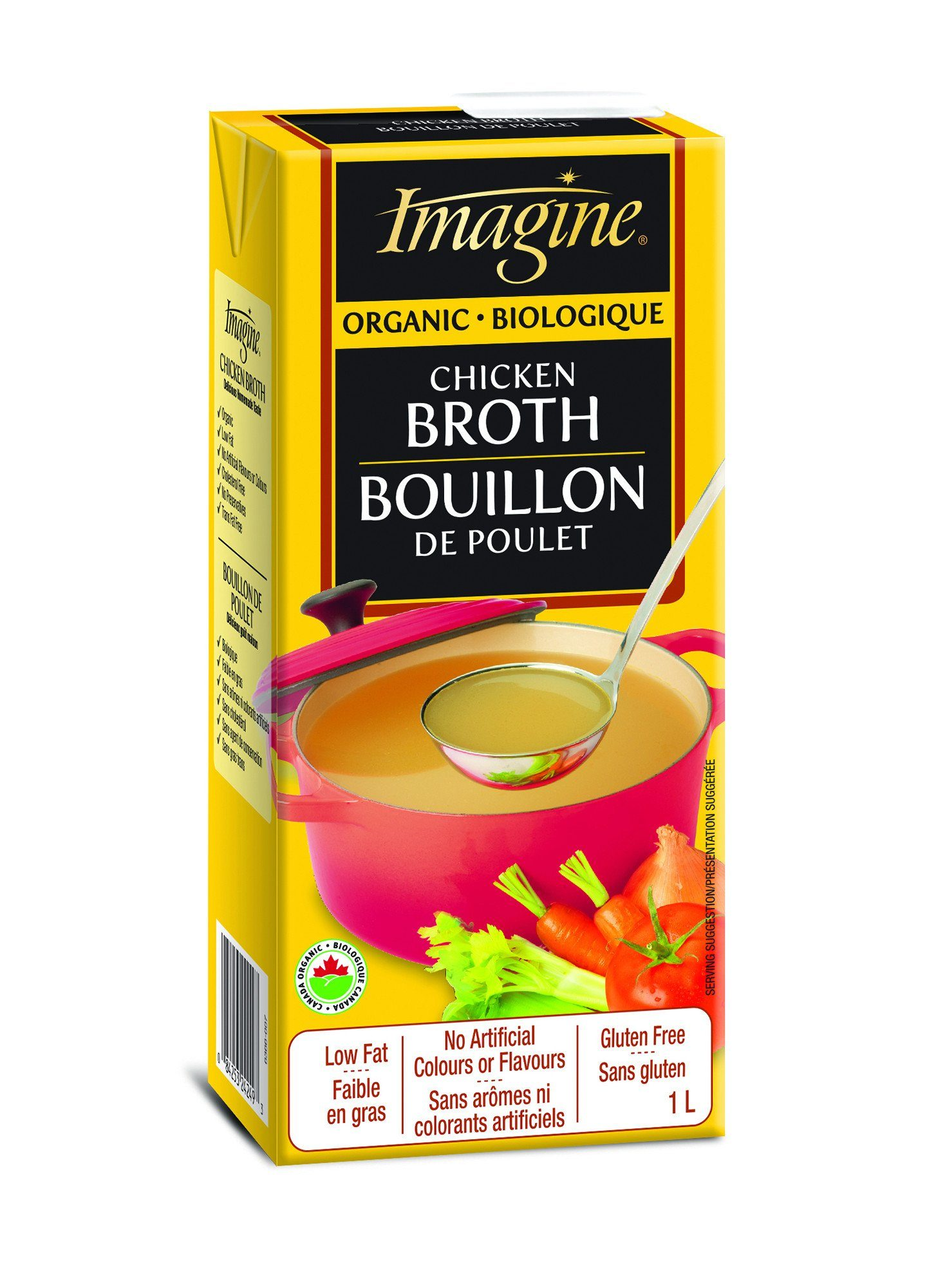 Food & Drink - Imagine Foods - Organic Chicken Broth, 1L