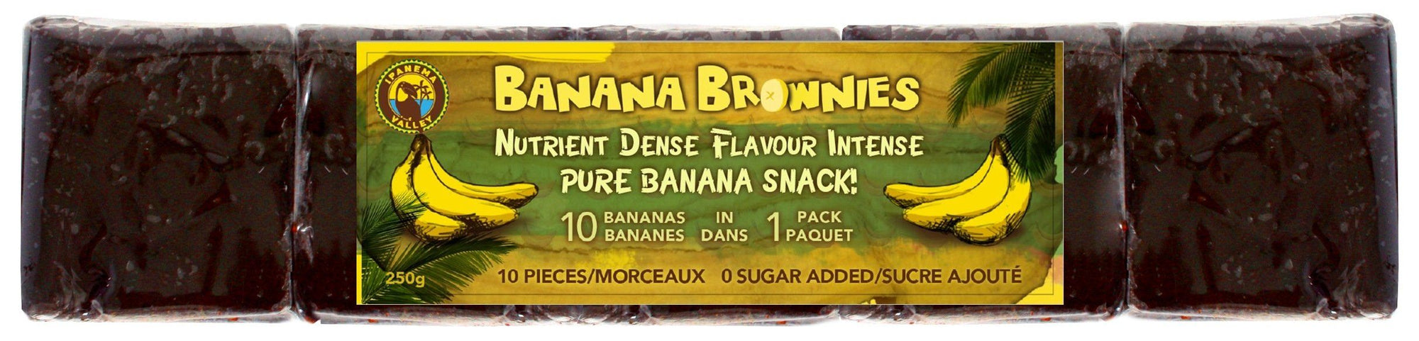 Food & Drink - Ipanema Valley - Banana Fruit Brownie,  120g