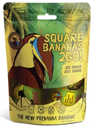 Food & Drink - Ipanema Valley, Square Banana 2Go!, 150g