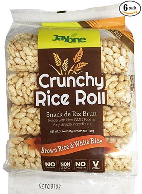 Food & Drink - Jayone Foods - Brown Rice Roll Snack, 100G