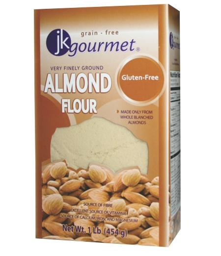 Food & Drink - JK Gourmet - Almond Flour - Finely Ground, 454g
