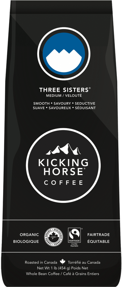 Food & Drink - Kicking Horse Coffee - Organic Three Sisters Coffee, 454g