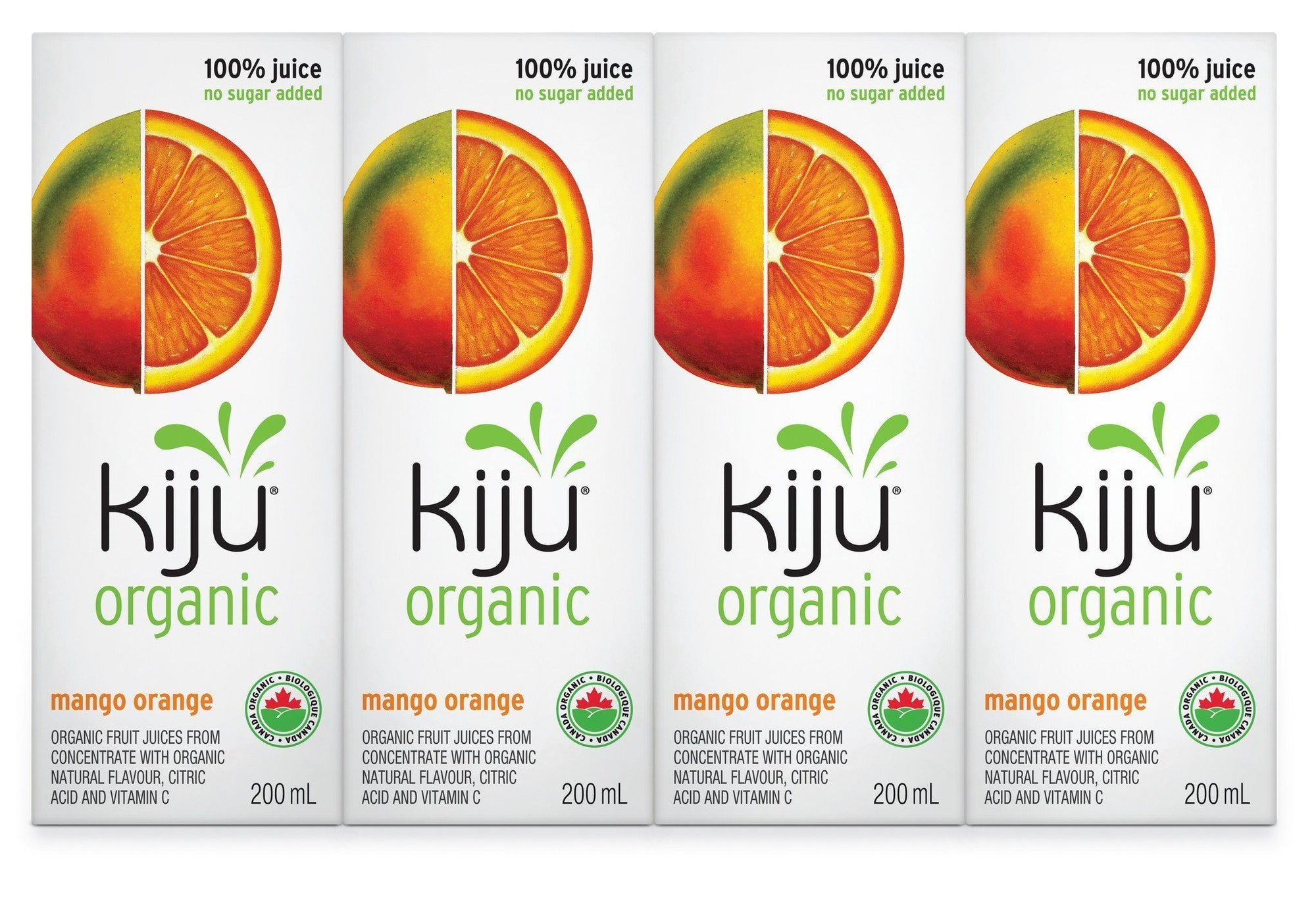 Food & Drink - Kiju - Organic Mango Orange Juice, 200ml