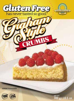Food & Drink - Kinnikinnick - Graham Style Crumbs, 300g