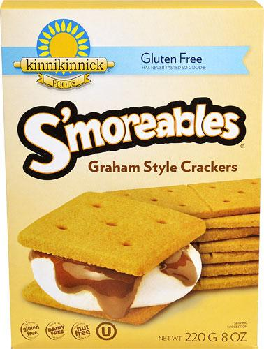 Food & Drink - Kinnikinnick - S'moreables Graham Style, 220g
