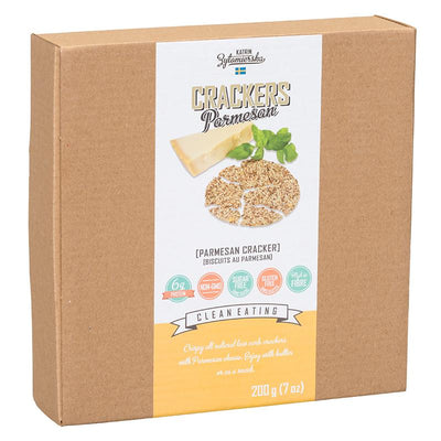 Food & Drink - KZ Clean Eating - Parmesan Crackers, 200g