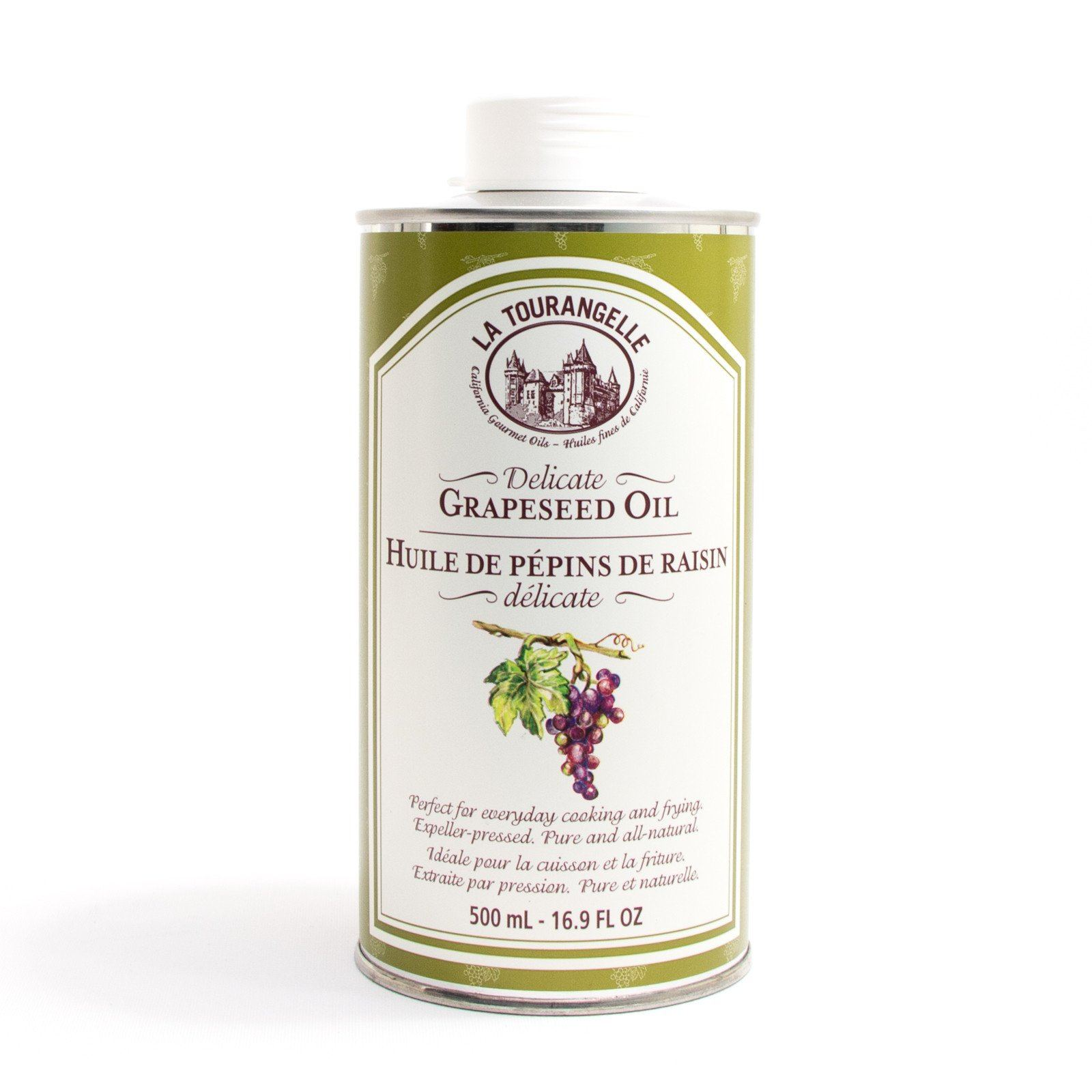Food & Drink - La Tourangelle - Grapeseed Oil, 500ml