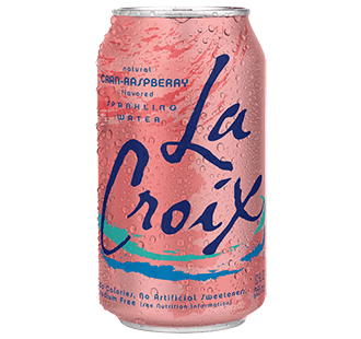 Food & Drink - LaCroix - Sparkling Water Cran-Raspberry, 355ml