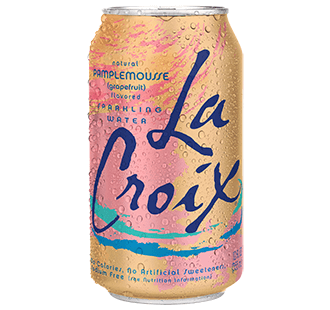 Food & Drink - LaCroix - Sparkling Water Grapefruit, 355ml