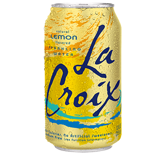 Food & Drink - LaCroix - Sparkling Water Lemon, 355ml