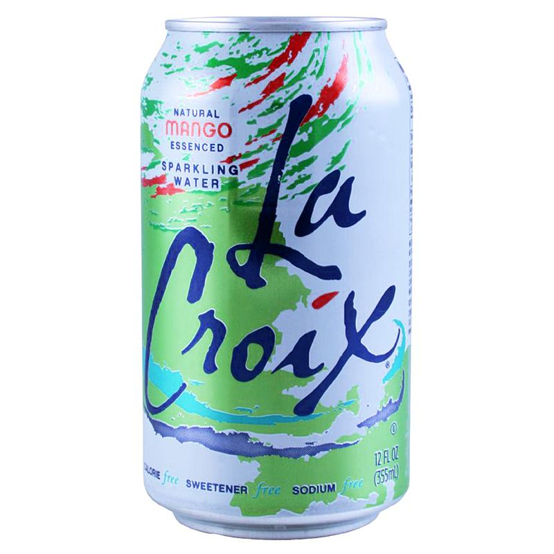 Food & Drink - LaCroix Sparkling Water, Mango 355ml