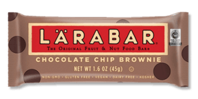Food & Drink - Larabar - Chocolate Chip Brownie Bar, 45g