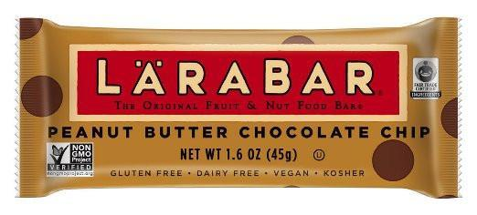 Food & Drink - Larabar - Peanut Butter Chocolate Chip Bar, 45g