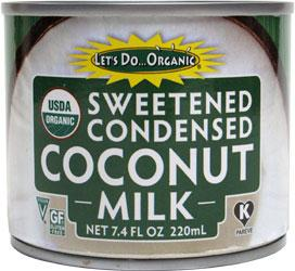 Food & Drink - Let's Do... Organic - Coconut Milk, Sweetened Condensed, 200mL