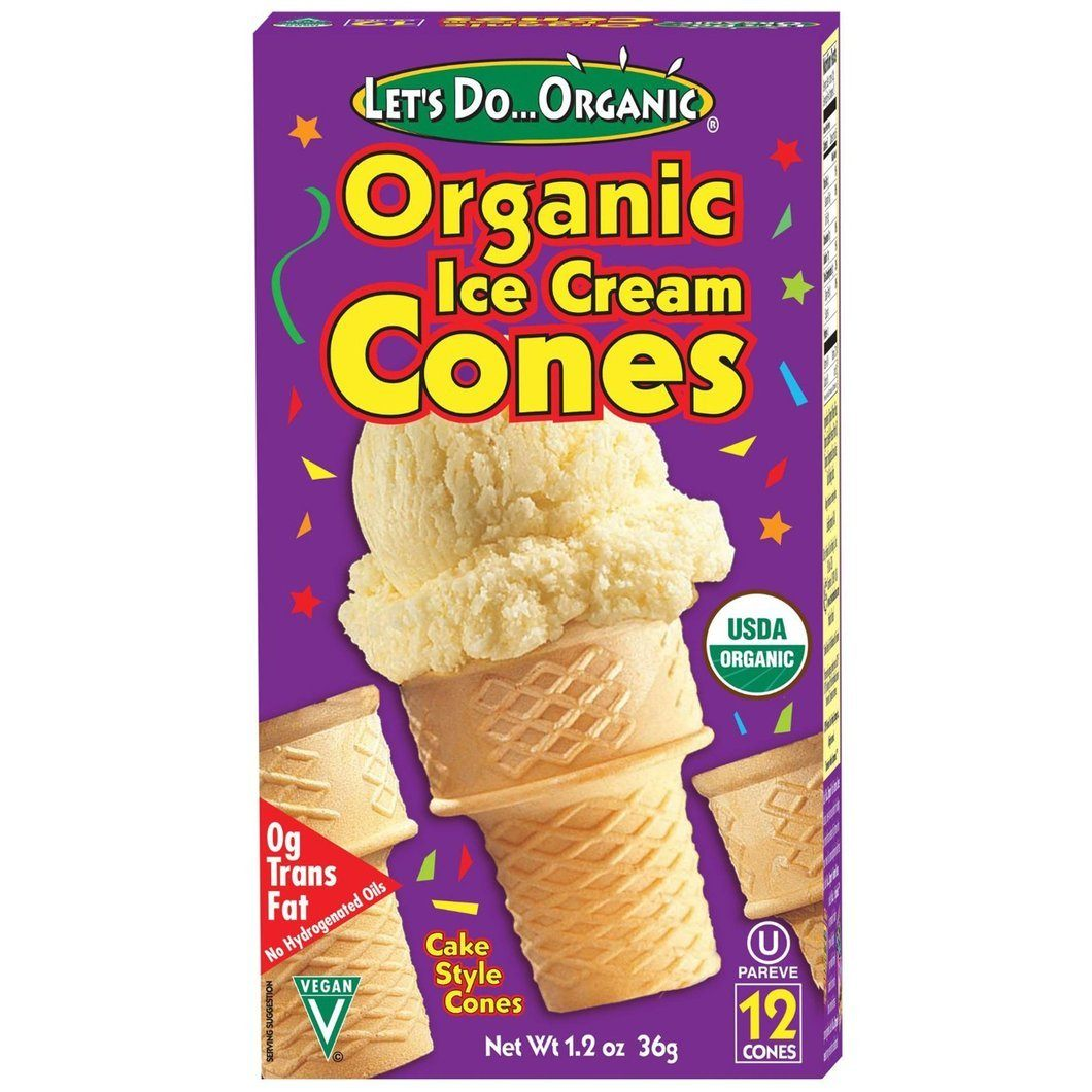 Food & Drink - Let's Do... Organic - Organic Ice Cream Cones - 66g