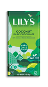 Food & Drink - Lily's Sweets - Coconut Dark Chocolate, 85g