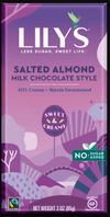Food & Drink - Lily's Sweets - Salted Almond (milk Chocolate Style), 85g