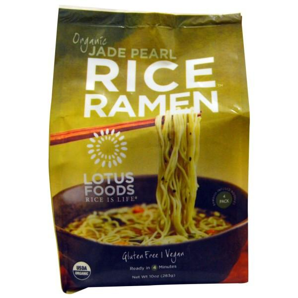 Food & Drink - Lotus Rice - Forbidden Rice® Ramen - Jade Pearl 4 Pack, 283g