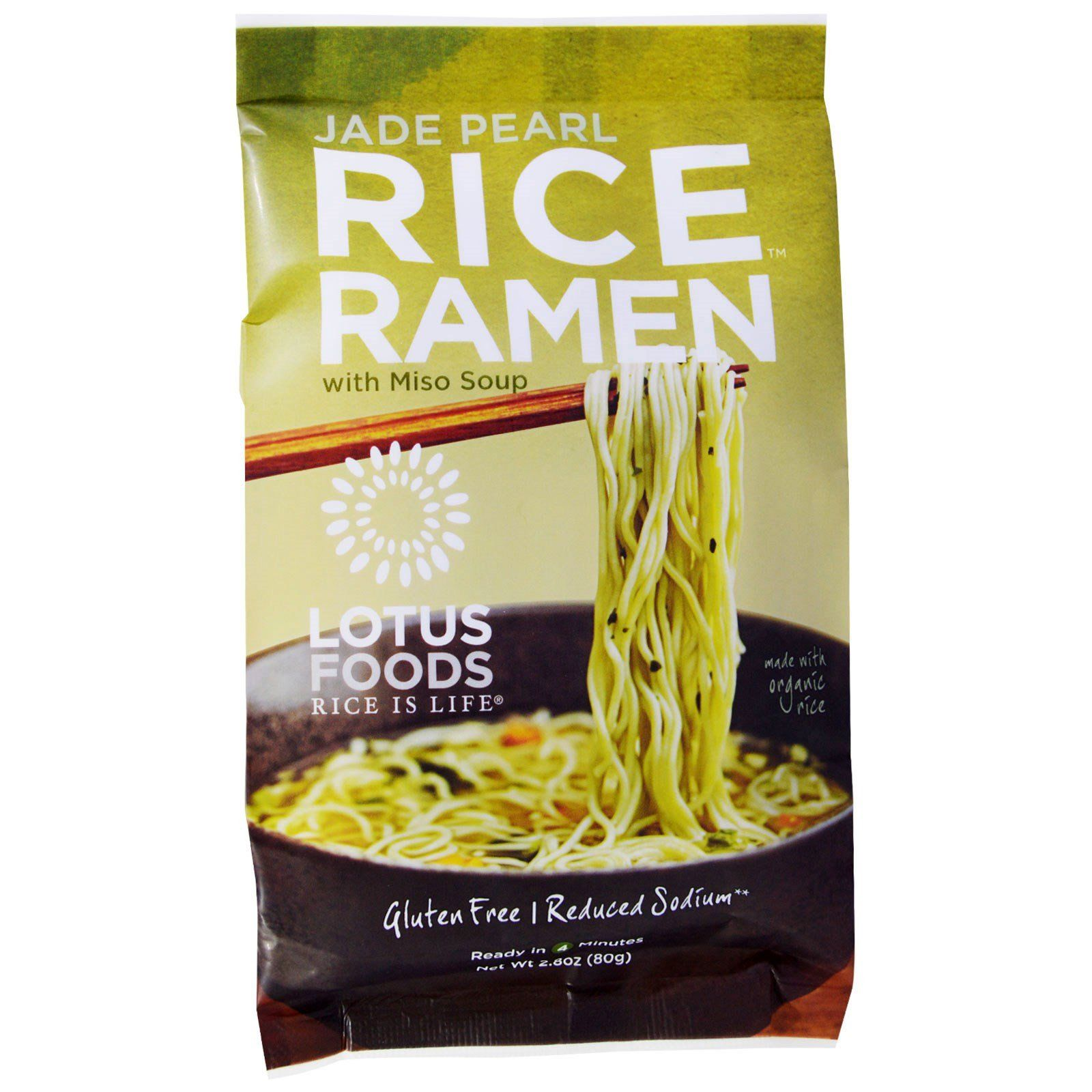 Food & Drink - Lotus Rice - Forbidden Rice® Ramen - Jade Pearl, 80g