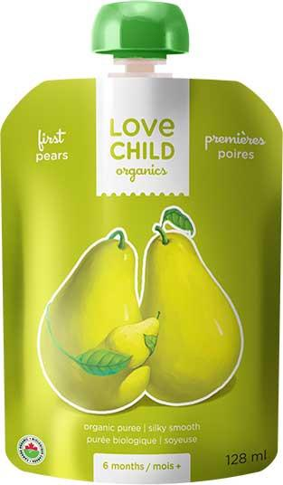 Food & Drink - Love Child - Simple Firsts Pear, 128ml