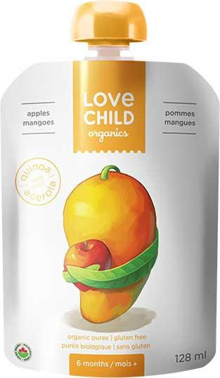 Food & Drink - Love Child - Super Blends- Apples And Mangoes - 128 ML
