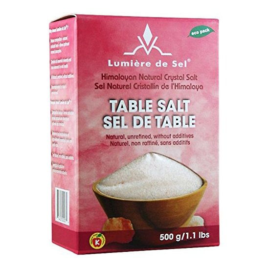 Food & Drink - Lumiere De Sel - Himalayan Table Salt, 500g