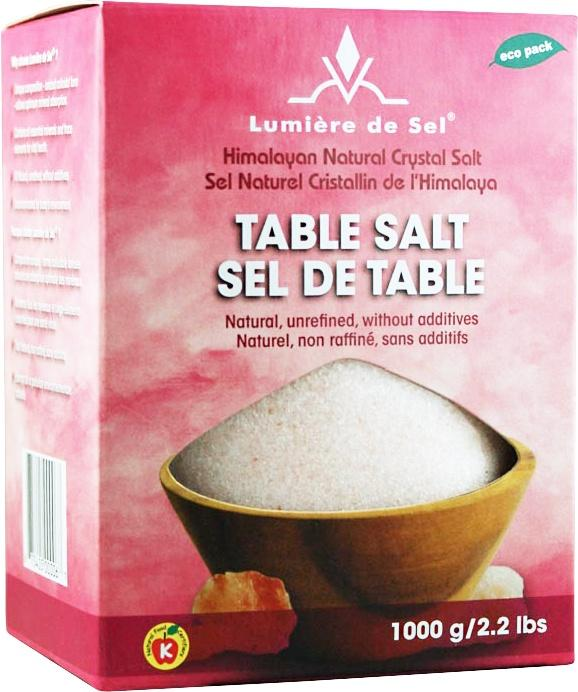 Food & Drink - Lumiere De Sel - Table Salt, 1000g