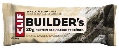 Food & Drink - Luna/Clif Bars - Vanilla Almond Builder's Bar, 68g