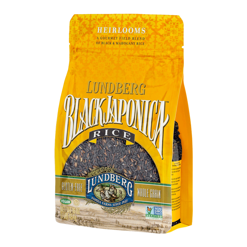 Food & Drink - Lundberg Family Farms - Black Japonica Rice - 454g