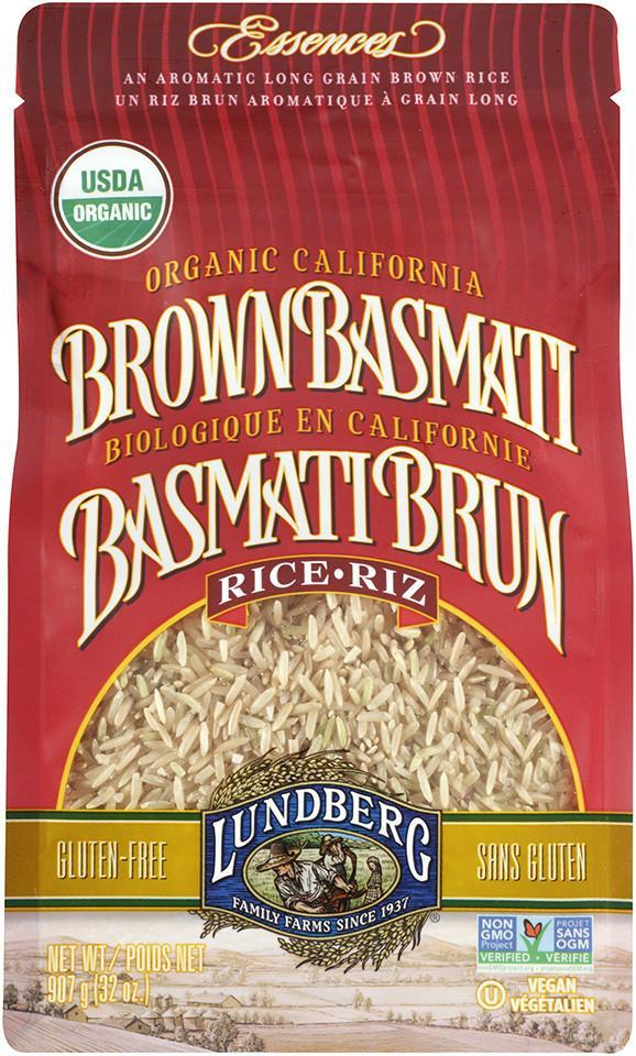 Food & Drink - Lundberg Family Farms - Organic Brown Basmati Rice, 907g