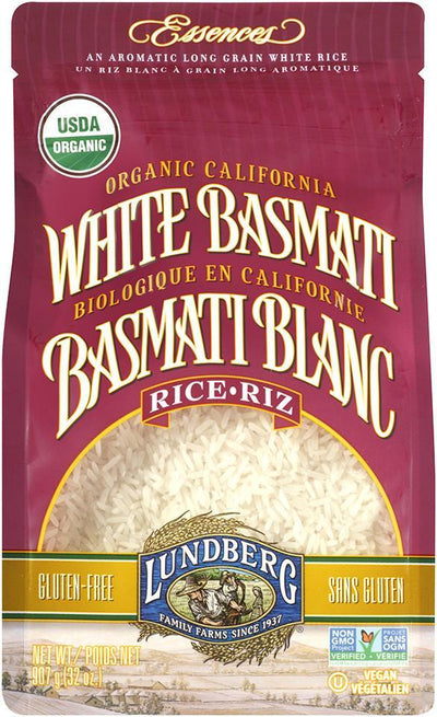 Food & Drink - Lundberg Family Farms - Organic White Basmati Rice, 907g