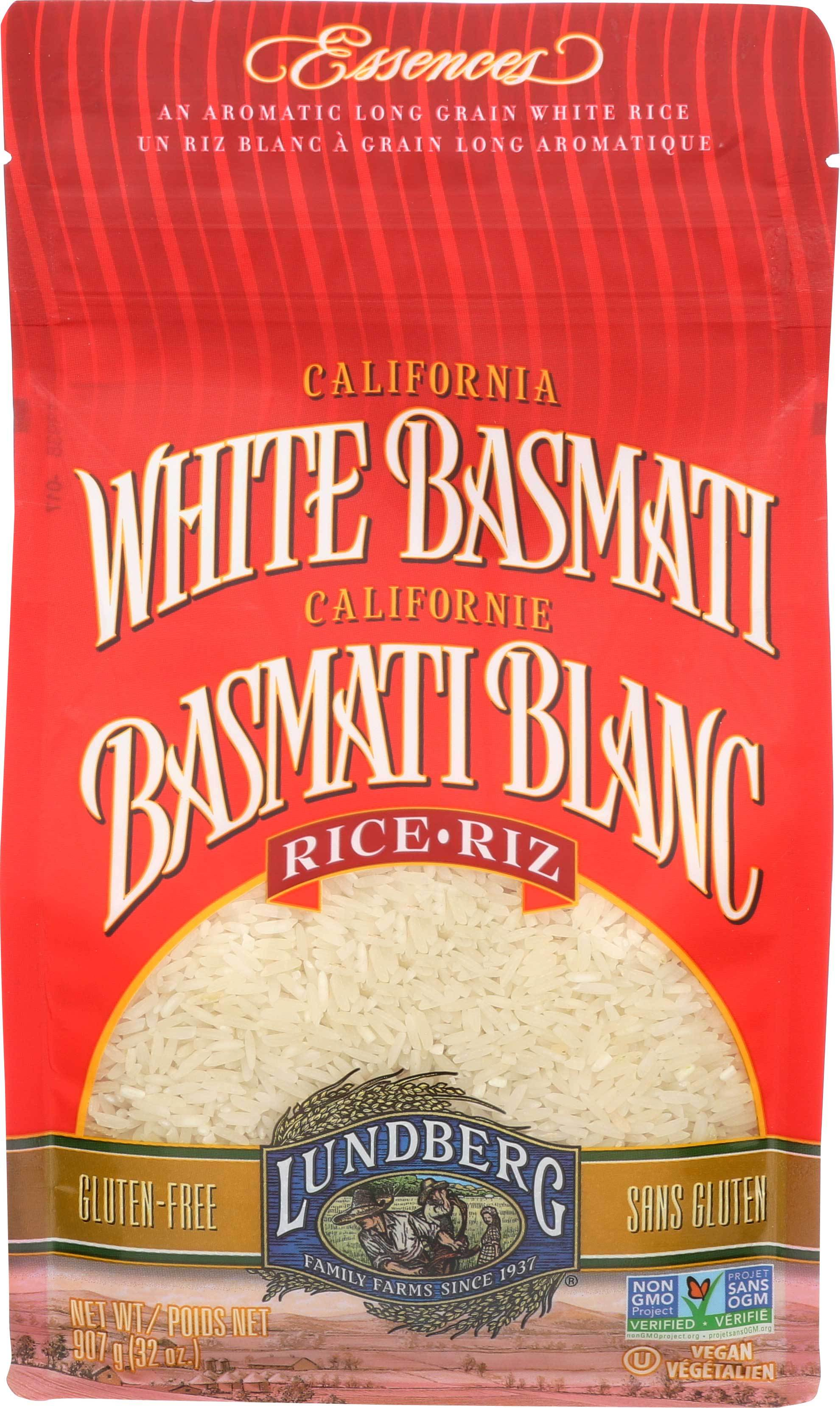 Food & Drink - Lundberg Family Farms - White Basmati Rice - 907G