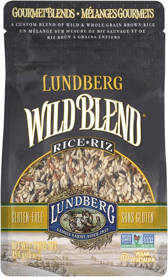 Food & Drink - Lundberg Family Farms - Wild Blend Rice, 907g