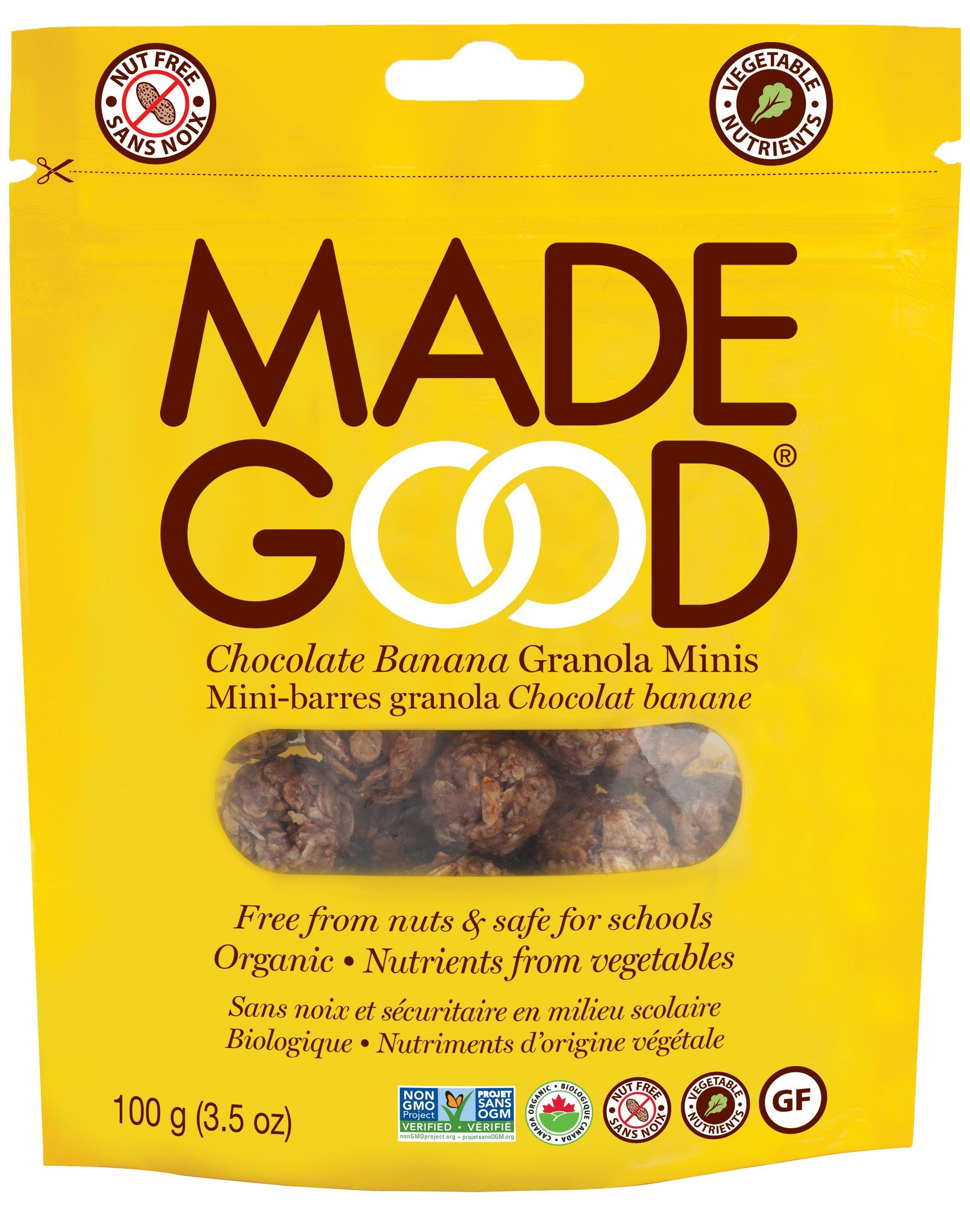Food & Drink - Made Good - Granola Mini Pouch - Chocolate Banana - 100g