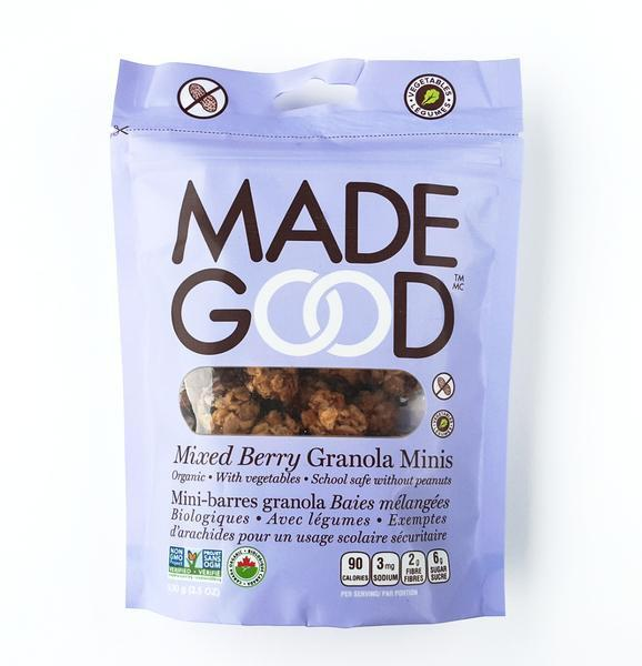 Food & Drink - Made Good - Granola Mini Pouch Mix Berry - 100 G