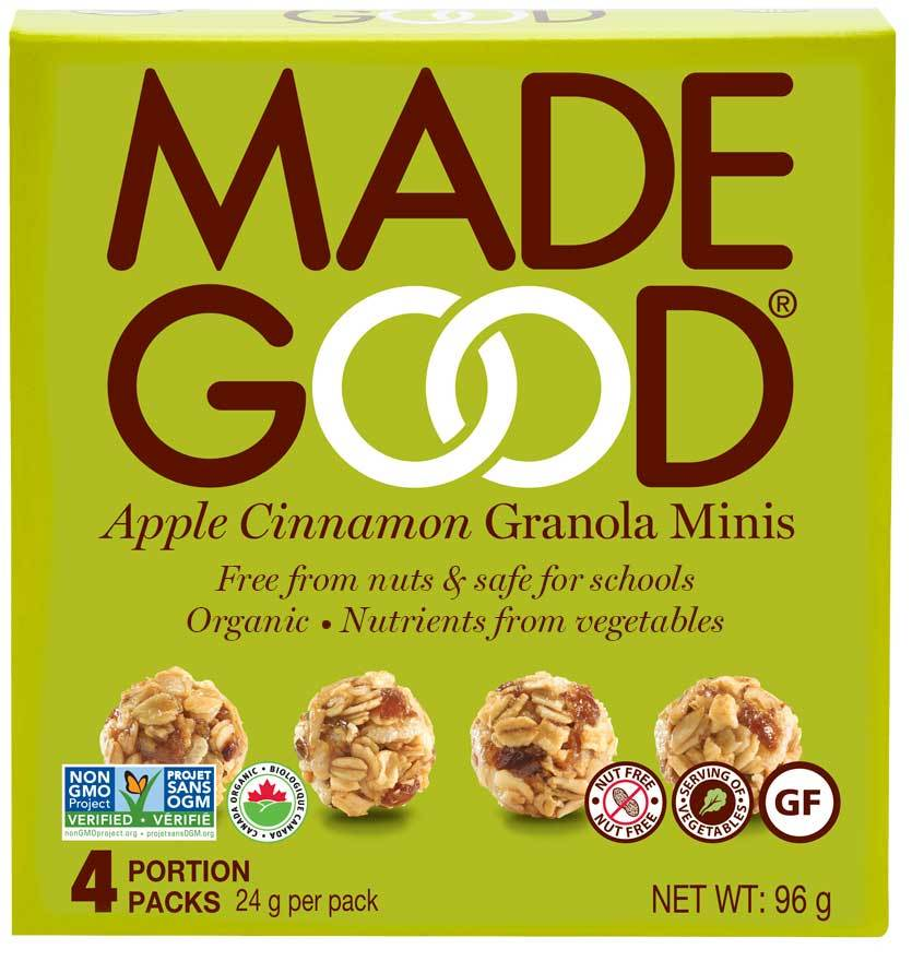 Food & Drink - Made Good - Granola Minis - Apple Cinnamon - 4x24g