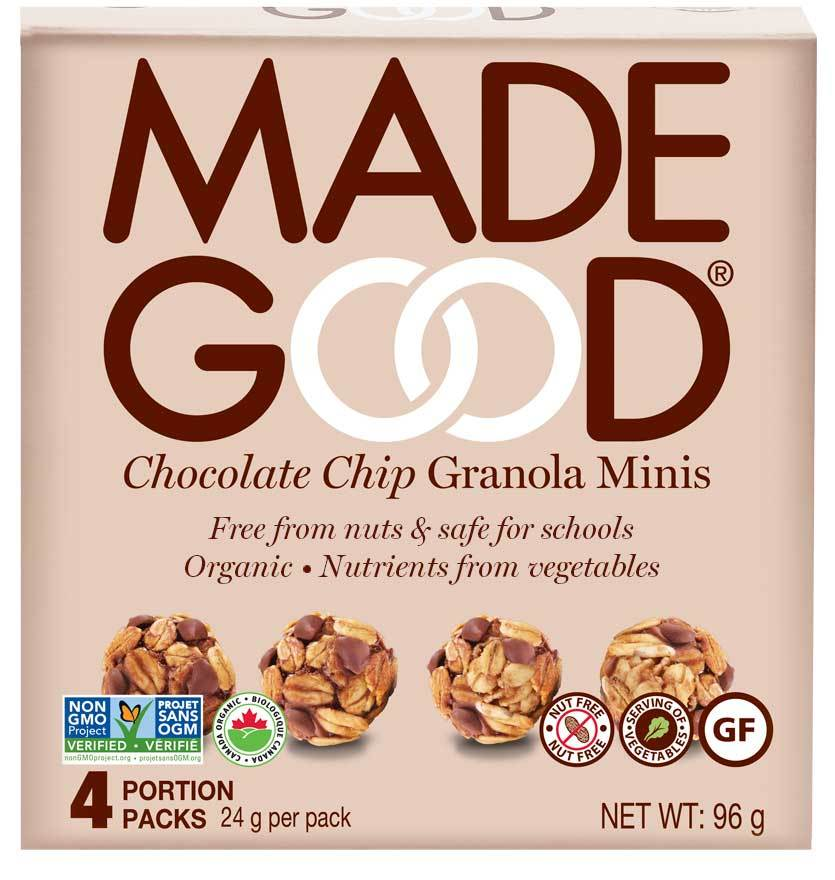 Food & Drink - Made Good - Granola Minis Chocolate Chip - 4x24g