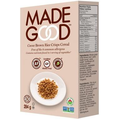 Food & Drink - Made Good - Organic Cereal Cocoa - 284 G