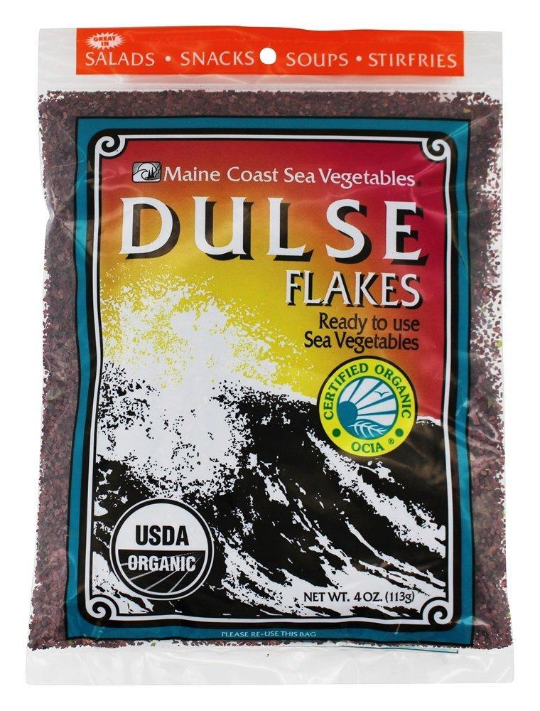 Food & Drink - Maine Coast Sea Vegetables - Organic Dulse Flakes, 113g