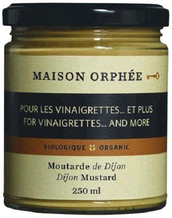 Food & Drink - Maison Orphee Org Dijon Mustard 250 Ml