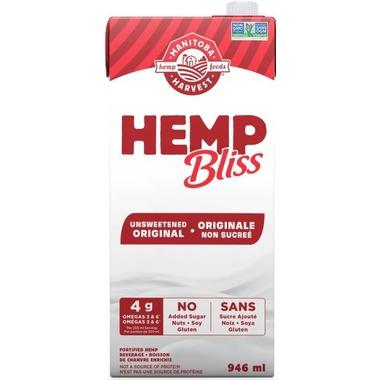 Food & Drink - Manitoba Harvest - Hemp Bliss - Unsweetened Original, 946ml