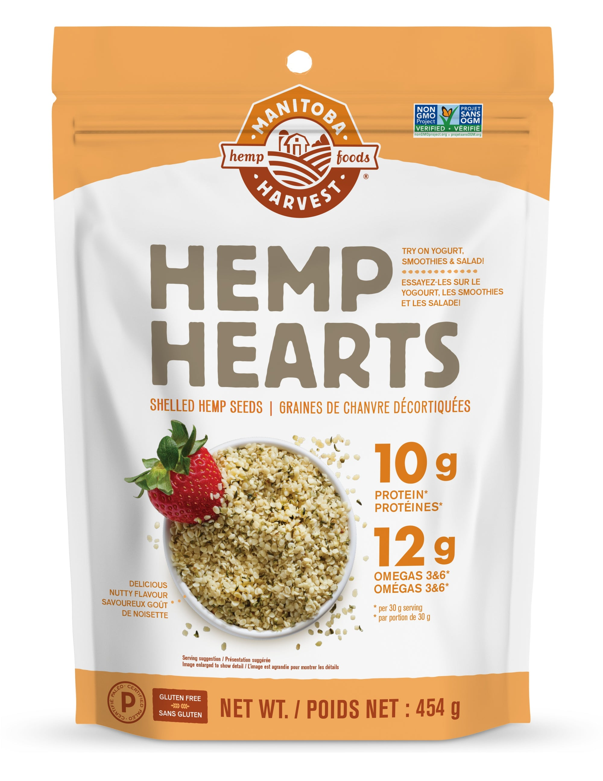 Food & Drink - Manitoba Harvest - Hemp Hearts, 454g