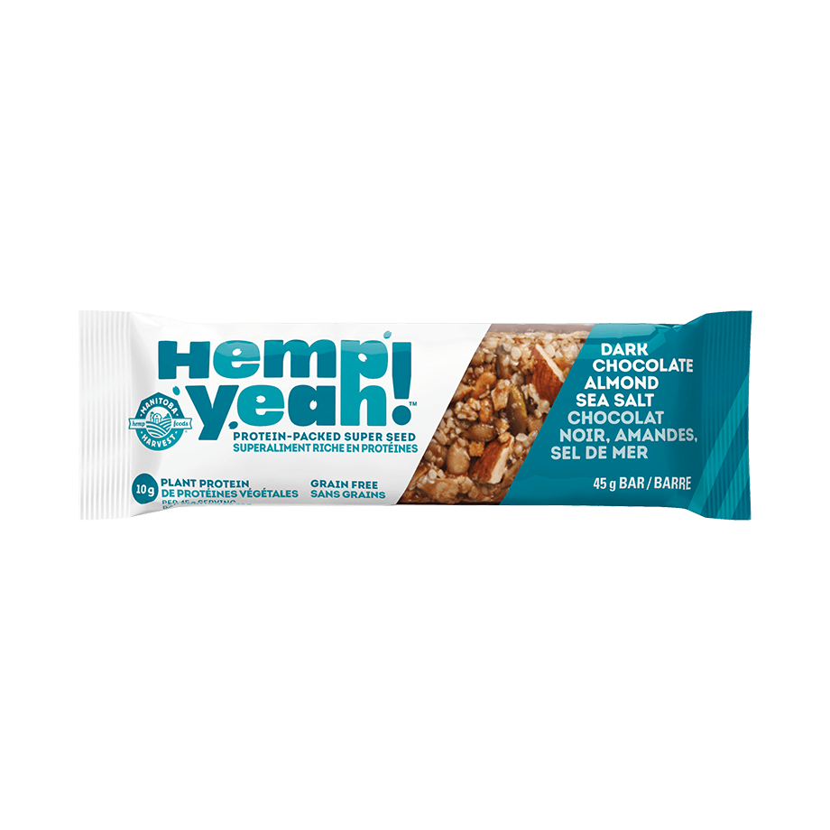 Food & Drink - Manitoba Harvest - Hemp Year! Bar (Chocolate Almond Sea Salt), 45g