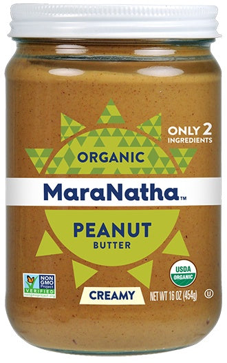 Food & Drink - MaraNatha - Organic Creamy Peanut Butter - With Salt, 500g