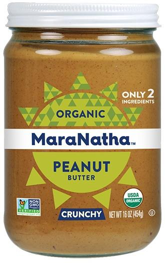 Food & Drink - MaraNatha - Organic Crunchy Peanut Butter - With Salt, 500g