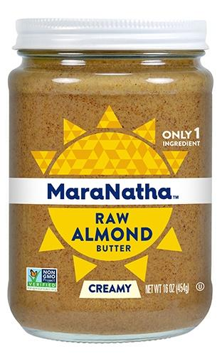 Food & Drink - MaraNatha - Raw Almond Butter - No Salt, 340g