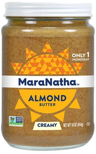Food & Drink - MaraNatha - Roasted Almond Butter - No Salt, 340g