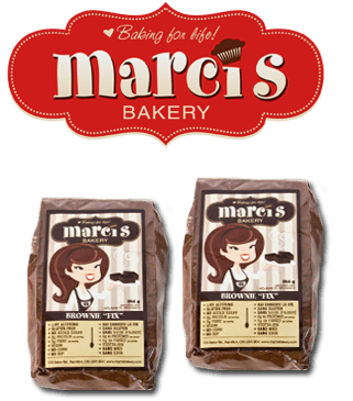 Food & Drink - Marci's Bakery - The Brownie Fix - Brownie Mix, 264g